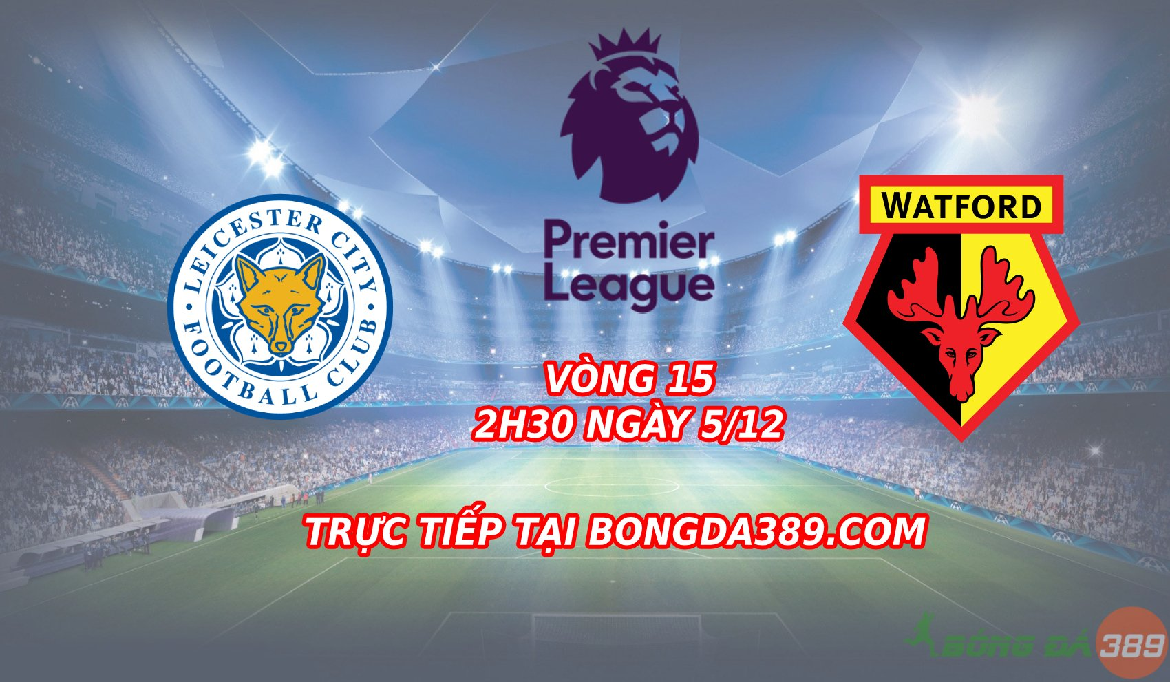 leicester vs watford
